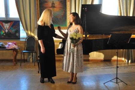 Элеонора Теплухина и Вера Кальбергенова