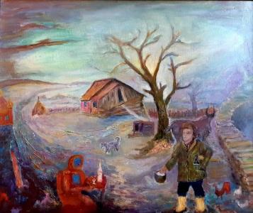 Никита Ефремовцев «Мужик и робот». ...