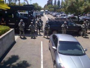 Полиция США на работе
